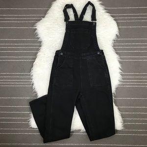 Brandy Melville skinny leg denim overalls